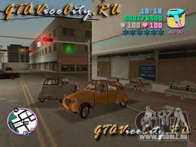 Citroen 2CV pour GTA Vice City