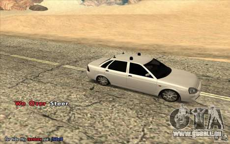 Lada Priora Final Tuning für GTA San Andreas