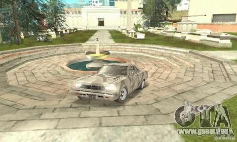 Plymouth Roadrunner 383 für GTA San Andreas Seitenansicht