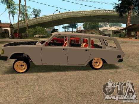 GAZ Volga 310221 pour GTA San Andreas laissé vue