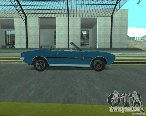 Pontiac Firebird Conversible 1966 für GTA San Andreas rechten Ansicht