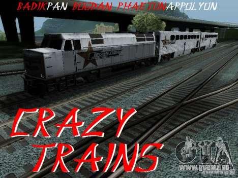 Crazy Trains MOD pour GTA San Andreas