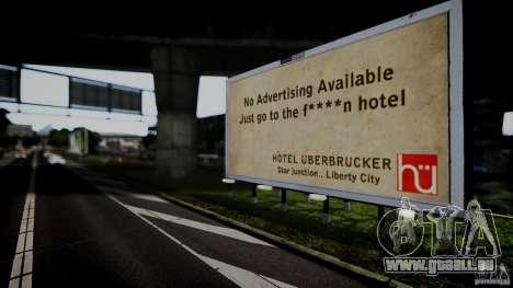 Realistic Airport Billboard für GTA 4 weiter Screenshot