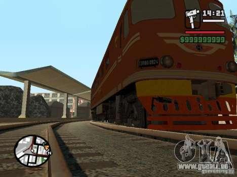Locomotive TEP-60 pour GTA San Andreas