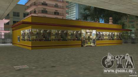 Shell Station pour le quatrième écran GTA Vice City