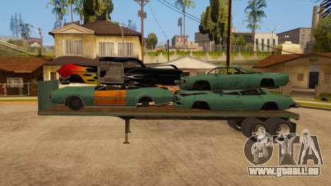 Chalut pour GTA San Andreas laissé vue