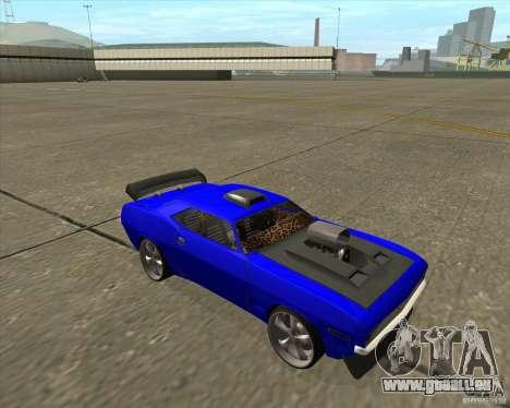 Plymouth Hemi Cuda de NFS Carbon pour GTA San Andreas