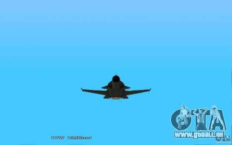 Su-32-Steinadler für GTA San Andreas rechten Ansicht