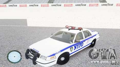Ford Crown Victoria 2003 NYPD für GTA 4 linke Ansicht