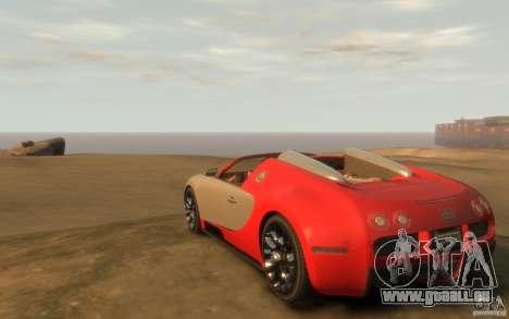 2009 Bugatti Veyron Grand Sport [EPM] für GTA 4 hinten links Ansicht
