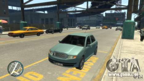 Skoda Fabia pour GTA 4