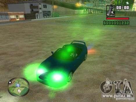 Xenon v3.0 für GTA San Andreas dritten Screenshot