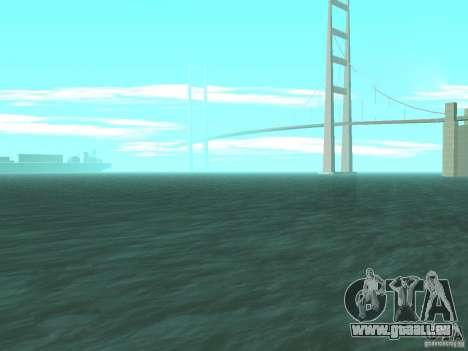 Nouvelles sources d'eau pour GTA San Andreas