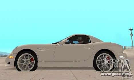 Panoz Esperante GTLM 2005 pour GTA San Andreas sur la vue arrière gauche