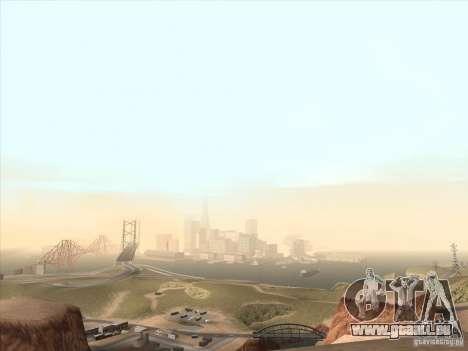 Un réaliste Timecyc pour GTA San Andreas quatrième écran