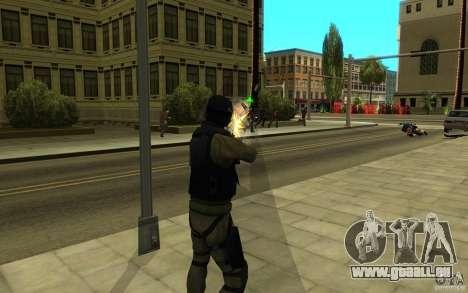 CJ-Spezialeinheiten für GTA San Andreas achten Screenshot