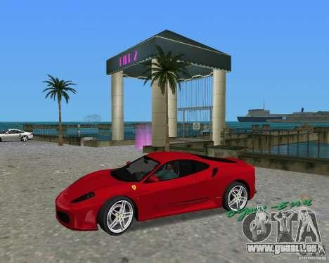Ferrari F430 pour une vue GTA Vice City de la droite