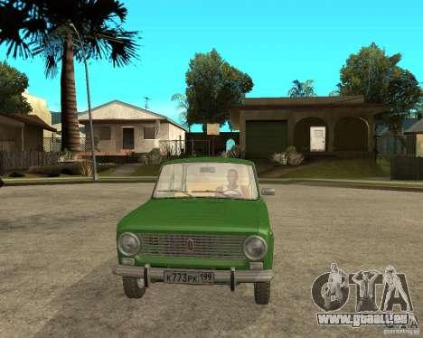 VAZ 2101 Kopeken für GTA San Andreas Rückansicht