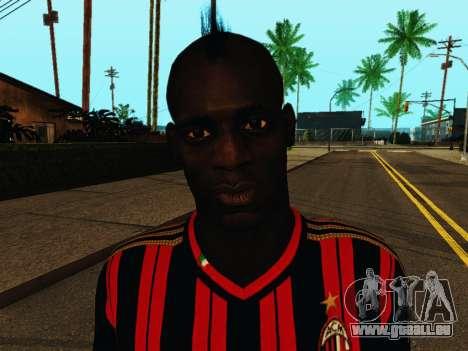 Mario Balotelli v1 für GTA San Andreas sechsten Screenshot