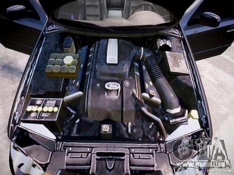 Ford Falcon XR-8 pour GTA 4 vue de dessus
