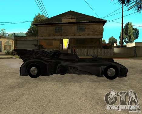 Batmobile für GTA San Andreas rechten Ansicht