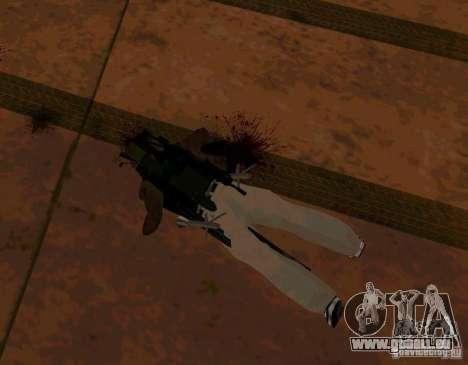 Animations de recrutement de GTA IV pour GTA San Andreas quatrième écran