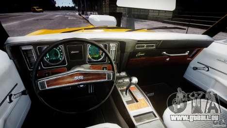 Chevrolet Camaro für GTA 4 Rückansicht