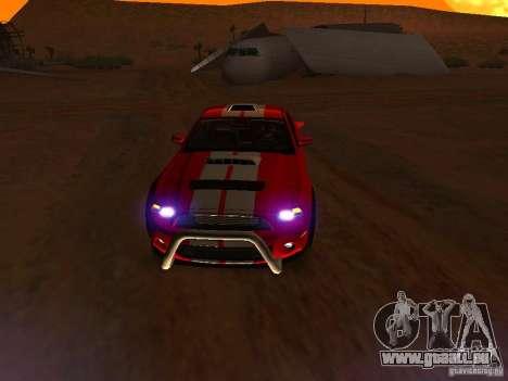 Ford Shelby GT500 für GTA San Andreas Räder