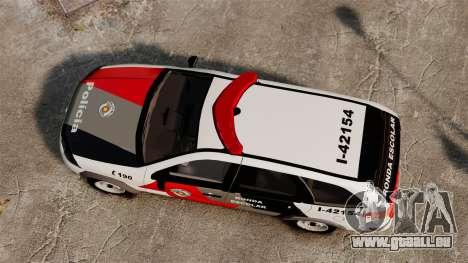 Fiat Palio Weekend Trekking 2013 PMESP ELS für GTA 4 rechte Ansicht