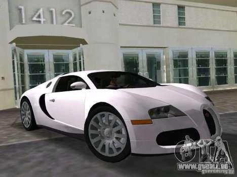 Bugatti Veyron EB 16.4 für GTA Vice City