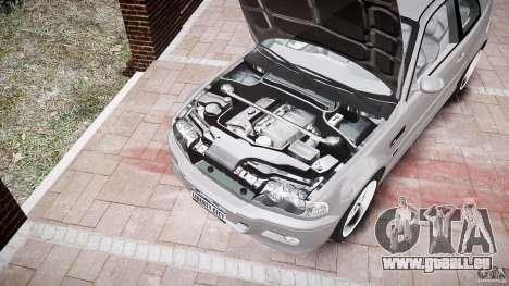 BMW M3 e46 v1.1 pour GTA 4 Salon
