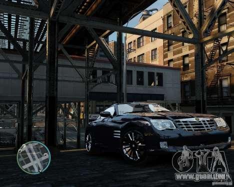 2007 Chrysler Crossfire pour GTA 4 est une gauche