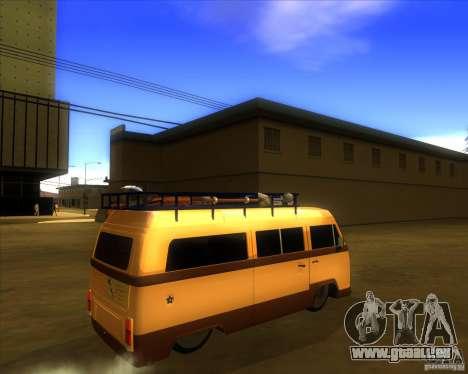 Volkswagen Kombi Classic Retro für GTA San Andreas rechten Ansicht