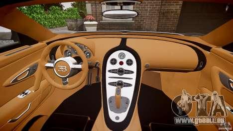 Bugatti Veyron Grand Sport [EPM] 2009 für GTA 4 obere Ansicht