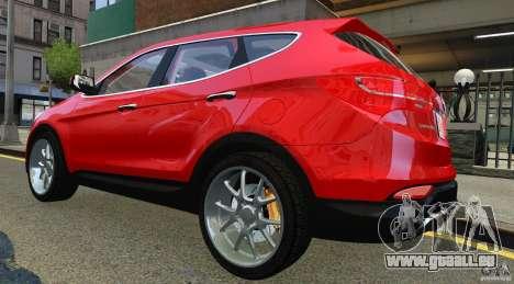 Hyundai Santa Fe Sport 2013 für GTA 4 rechte Ansicht