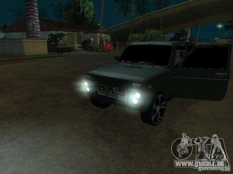 Lada Niva 21214 Tuning für GTA San Andreas linke Ansicht