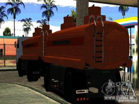 MAZ 533702 LKW für GTA San Andreas rechten Ansicht