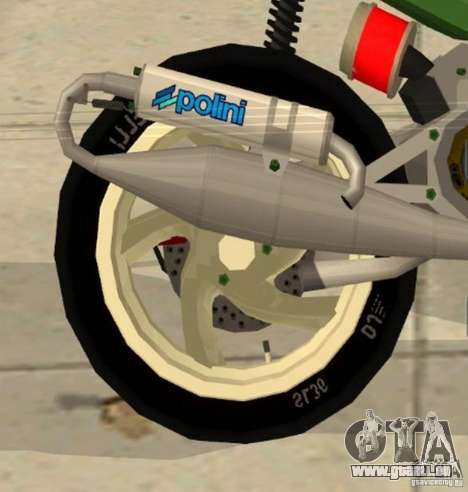 Gilera Runner 50SP Skin 4 für GTA San Andreas rechten Ansicht