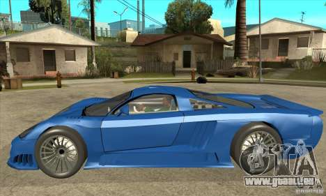 Saleen S7 Twin Turbo Custom Tuned für GTA San Andreas linke Ansicht