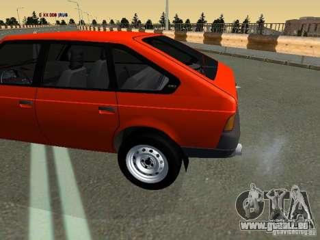 Svyatogor Azlk-2141 45 pour GTA San Andreas laissé vue