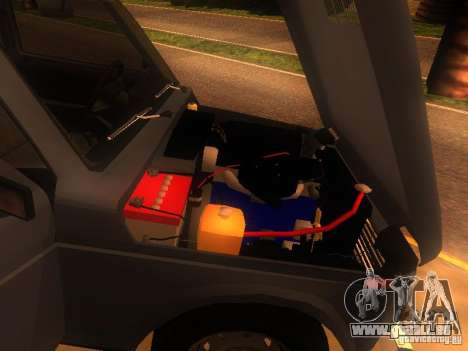 Vaz 2131 NIVA pour GTA San Andreas vue arrière