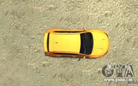 Subaru Impreza WRX STI Hatchback 2008 v.2.0 pour GTA 4 Vue arrière