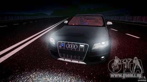 Audi S4 Unmarked [ELS] pour GTA 4 vue de dessus