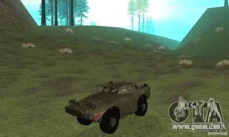 BRDM-1 peau 4 pour GTA San Andreas laissé vue