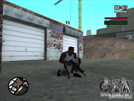 AK-74 (kein Lager) für GTA San Andreas