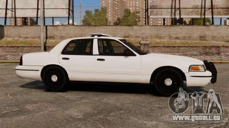 Ford Crown Victoria Unmarked ELS für GTA 4 linke Ansicht