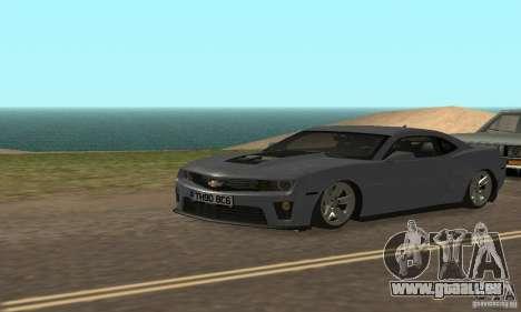 Chevrolet Camaro ZL1 2012 pour GTA San Andreas