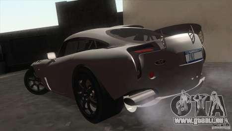 TVR Sagaris 2005 V1.0 für GTA San Andreas rechten Ansicht
