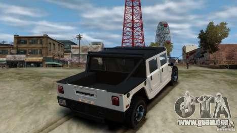 Hummer H1 pour GTA 4 est une gauche