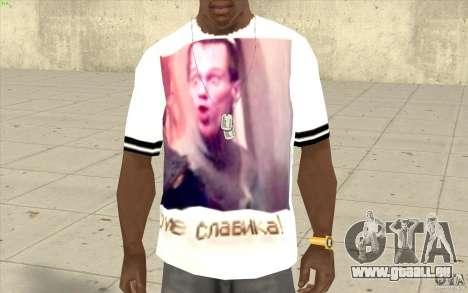 T-shirt : Slavik exubérante pour GTA San Andreas